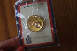 Ordnance Captain Rank Officer Military Badge Hat Lapel Cap Pin Us Army Vintage