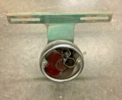 1951 Chevy Tail Light And License Plate Bracket Assembly Tin Woody Station Wagon