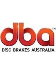 2 X Dba X-gold Cross-drilled Slotted Rotor For Holden Calais Vl Dba016x