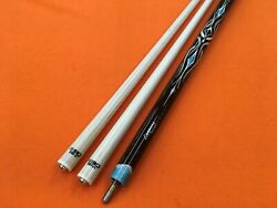 Longoni Carom Cue Leppens With S30 E69 Shafts.