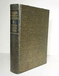 China Mother Of Gardens 1929 Wilson 1st Edition Travel Asia Plants Flora Hc