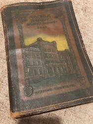 Rare 1920 Castle Heights Military Academy Yearbook-catalogue Lebanon,tennessee