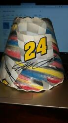 Jeff Gordon 24 Lamp Shade, Diaper Stacker And Quilt
