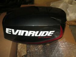 Evinrude 0285856 Engine Cover Graphite. 25 And 30 Hp Models. Includes Decals