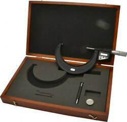 Starrett 4 To 5 Micro-lapped Carbide Standard Electronic Outside Micrometer ...