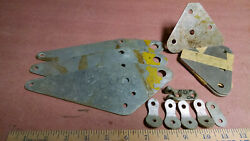 Antique Aircraft Waco Rnf Or Waco F-2 Wing Plate Fittings