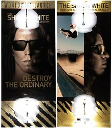 Oakley Display Posters Shaun White Gold Foil RARE Holbrook Frogskins C Six Mars $299.97