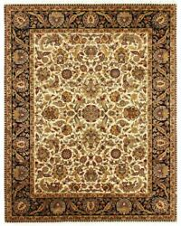 9x12 Indian Hand Knotted Area Rug Antique Handmade Oriental Home Office Carpet