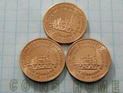 Coins Home Proof Uncirculated 150 Years Of Germany Railways Tokens Setttp6