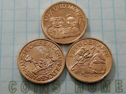Coins Home Proof Uncirculated 1988 Germany Jubileeandmemories Days Tokens Settt86