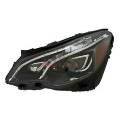 Led Headlight Assembly Front Lh Side 2078208961 Fits 2014-17 Mercedes-benz E400