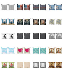Ambesonne Antique Vintage Cushion Cover Set Of 2 For Couch And Bed In 4 Sizes