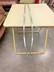 1951 Chevy Exterior Rear Fender Stainless Moulding Set Pass And Driver Tin Woody