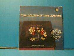 Canadian Salvation Army Band Sound Of The Gospel Vinyl Record Csb 37808