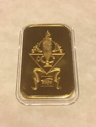 Coca Cola Clarksville 1oz .999 Silver Bar Gp 75th Anniv Rarest