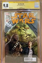 Han Solo 35 Cgc 9.8 Signed By Harrison Ford Star Wars Signature Series Marvel