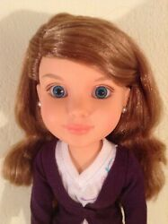 """Bfc Ink 18"""" Doll Addison. Brunette Straight Arms,  Jointed Legs, Knees"""