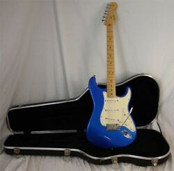 50th Anniversary Fender Strat U.s.a. Made Stratocaster With Hard Shell Case Mint