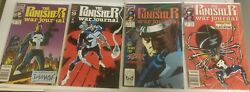 Lot Of 17 Total The Punisher Comic Books Guc -free Ship-