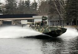 Armored Riverine Assault Boat RAB - NAVY SEAL SOC-R SWCC Yanmar 6LY2A