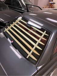 Catuned Interior Sun Blinds Wood For E30 M3 Only