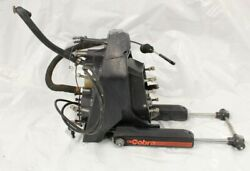 1993 Fresh Water Omc Transom Shield Gimbal Assy W/ Power Steering Complete