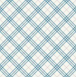 Childrenand039s Wallpaper System Solution Pretty Plaid Rhombus White Red Blue