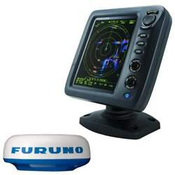 Furuno 8.4 Color Lcd 19 Dome 4kw Radar With 10m Cable 1815