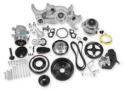 Holley 20-200 Premium Mid-mount Complete Accessory System For Lt Engines