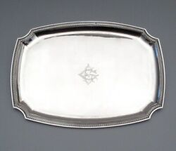 Antique French Sterling Silver Tray Armand Gross Paris 1893-1900