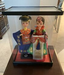 Korean Royalty Dolls With Case