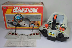 Playwell Vtg 1989 Battery Operated Sky Commander Driving Dashboard Needs Repair