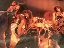 Kiss Band Lick It Up Tour Germany In Concert Tank Poster Gene Vinnie Paul Gc