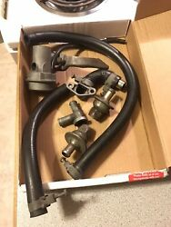 1968 Early Corvette Air Diverter Valve Assembly Used, Dated Clamps 3917648 Hose