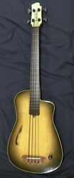 Blue Note Woodworks Acoustic Bass Guitar 412 See Video