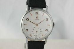 Omega 30 Vintage Iconic Watch 30t2 - Oversize 37mm Steel Case Stunning Dial