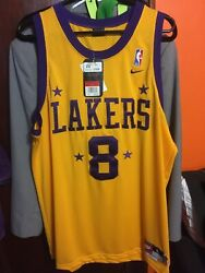 Nike Swingman Kobe Bryant Los Angeles Lakers 8 Jersey New With Tags L Large