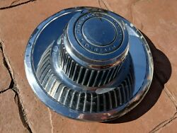 Chevrolet Motor Division 1960s Vintage Hubcap 9in Outer 7in At Inner Clip Ring