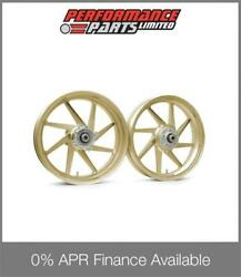 Gold Galespeed Type E Lightweight Forged Aluminium Wheels Honda Cb1300 2003
