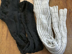 Footless Cable Knit Tights 7-10 $7.00