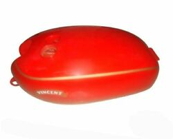 New Vincent Red Painted Petrol Fuel Tank Red Finish S2u
