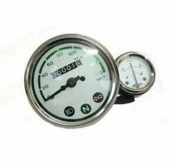 White 160 Kph Speedometer With Ammeter Deal For Royal Enfield Bullet S2u