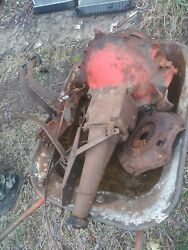 1956 Belair Transmission W/ Clutch And Brake Pedals