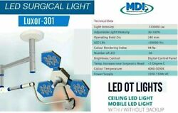 New Focusable Led Surgical Medical Examination Light Adjustable Lamp Luxor 301