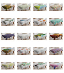 Ambesonne Nature Tablecloth Table Cover For Dining Room Kitchen