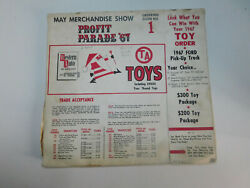 Vintage 1967 Western Auto Toys Ordering Guide No 1 Slot Cars Trains Rare