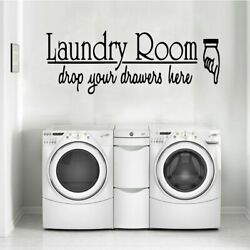 Exquisite laundry room Waterproof Wall Stickers Home Decor Living Room Children