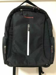 Porsche Driver's Selection Rucksack Backpack Motor sports collection black