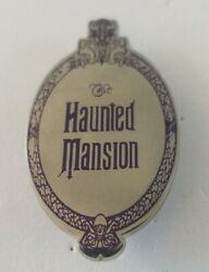Disney Pin Florida Project Liberty Square Haunted Mansion Plaque Oval Le 250 Htf