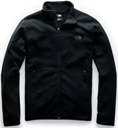 The North Face Men#x27;s TKA Glacier Full Zip Jacket TNF Black TNF Black A4AJCKX7 $69.00